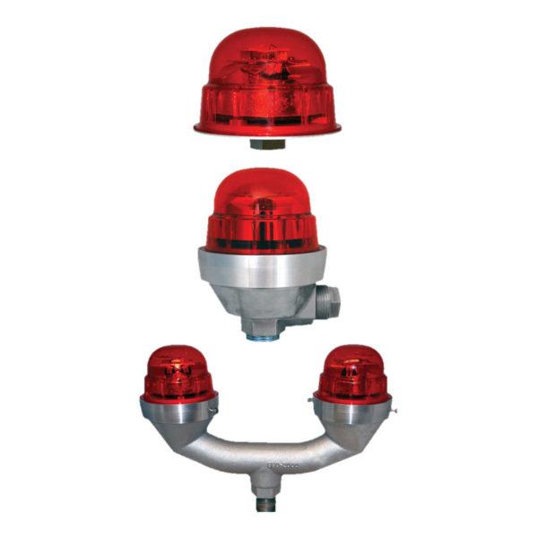Obstruction light or hazard light