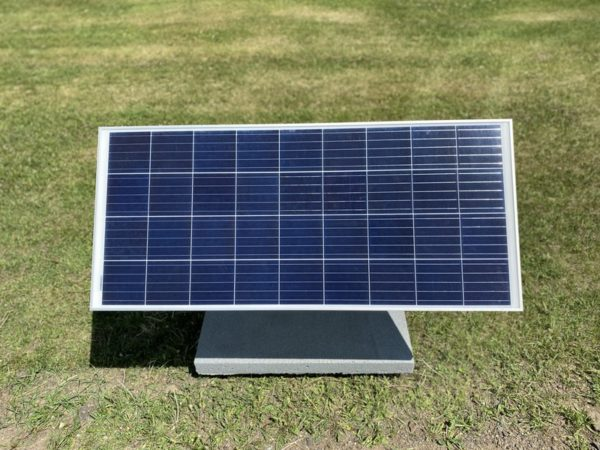 Self-contained photovoltaic power source