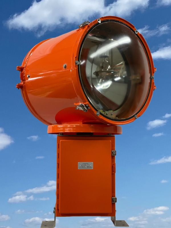 Mountable aerodrome beacon