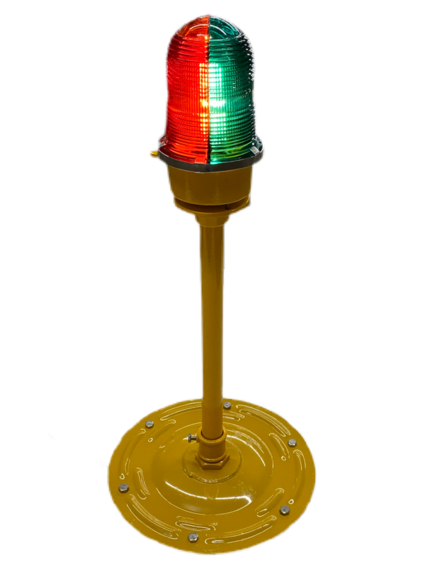 Red and green low intensity light